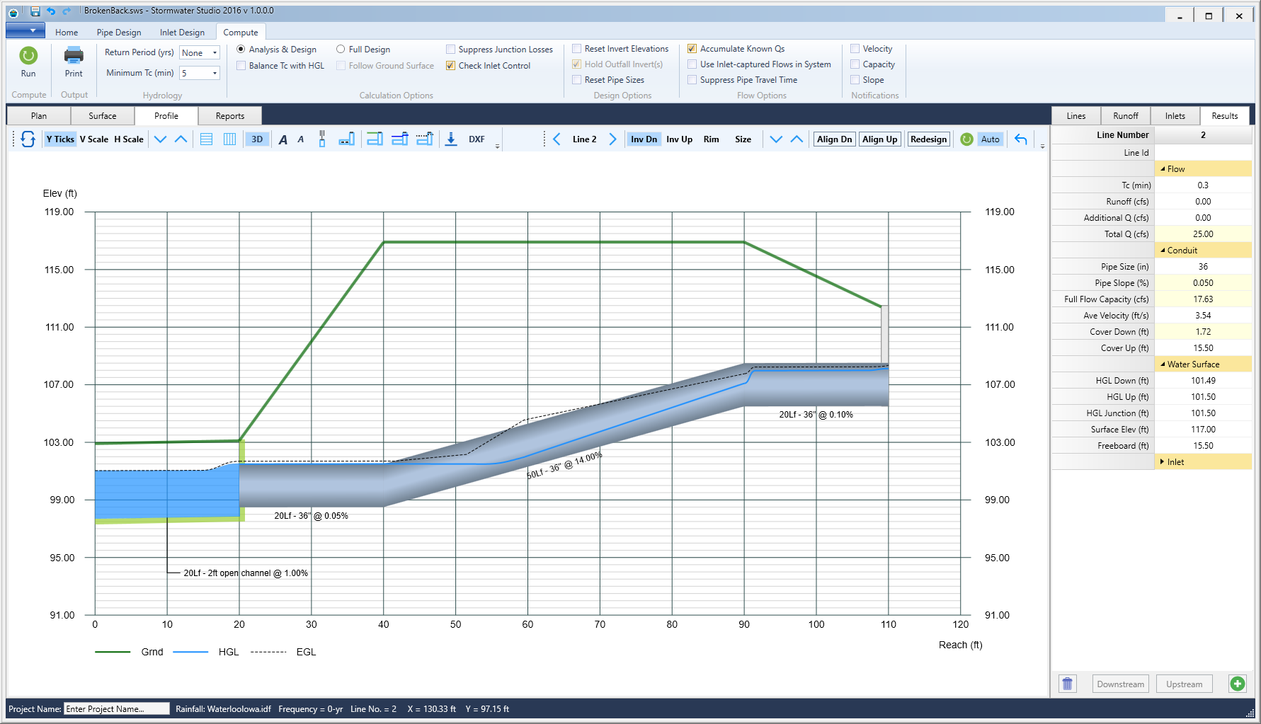 Storm Sewer Design Software Stormwater Modeling