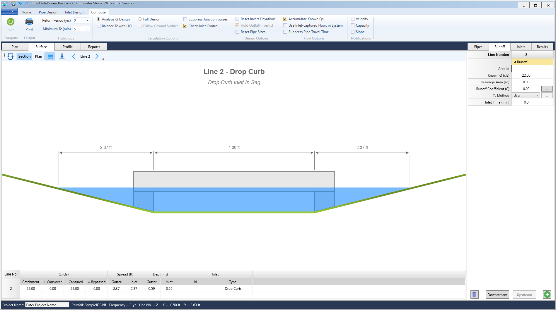 Storm Sewer Design Software | Stormwater Modeling