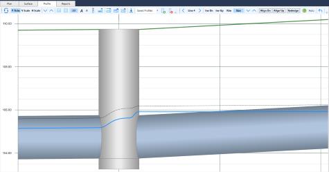 Storm sewer design software