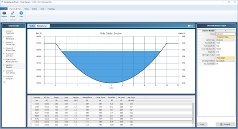 hydraulics and hydrology software