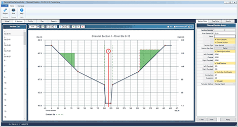 software for open channel hydraulics